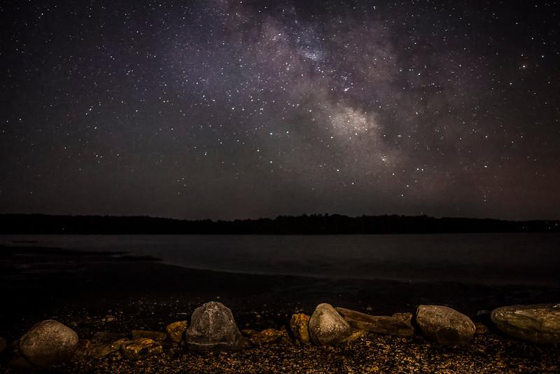 Night Sky at Warton Point