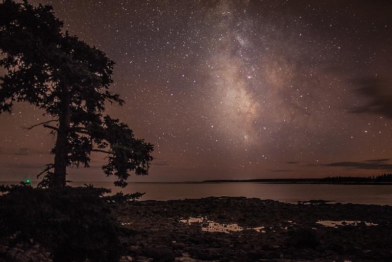 Milky Way at Seawall, Acadia